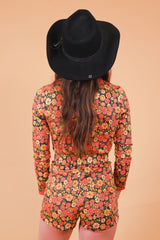 Vintage 1970's Sweetheart of the Rodeo Black Hat
