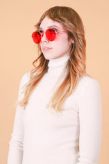McCartney Sunglasses in Strawberry