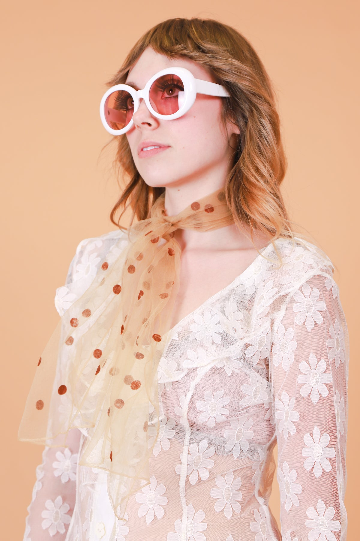 Warhol Sunglasses in Rose