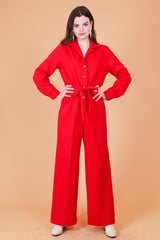 Vintage 1970's Love Is All Around Jumpsuit