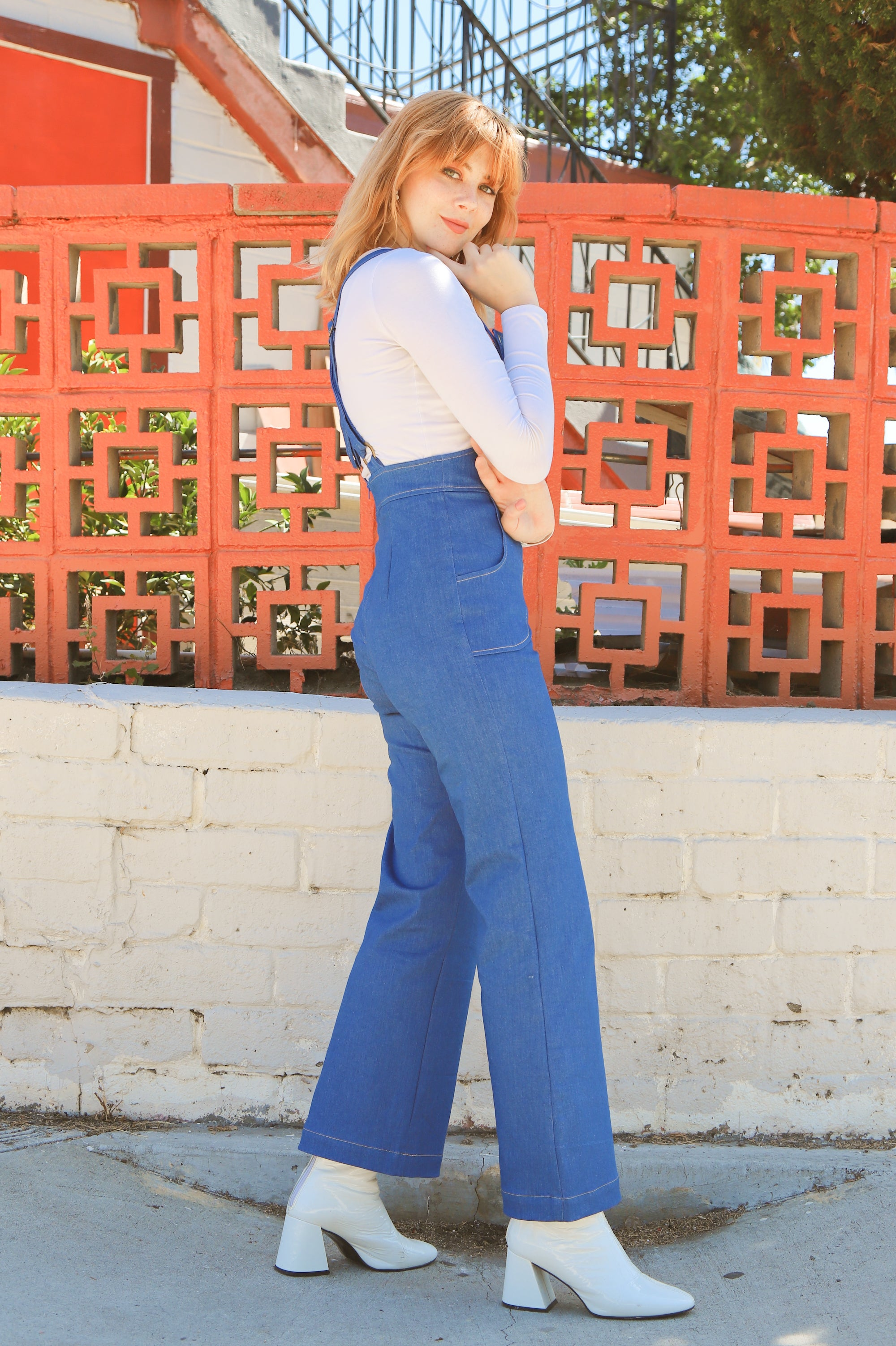 Jane Overall in Denim