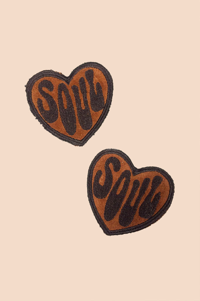 Suede Soul Patch in Chocolate