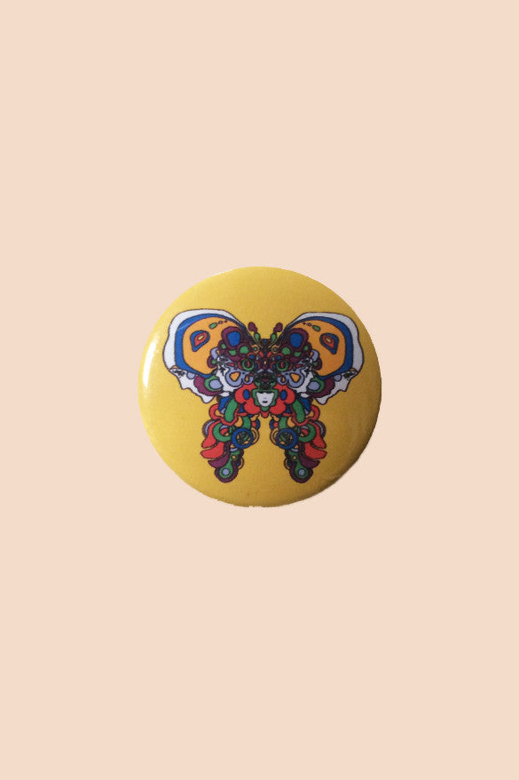Peter Max Butterfly Pin