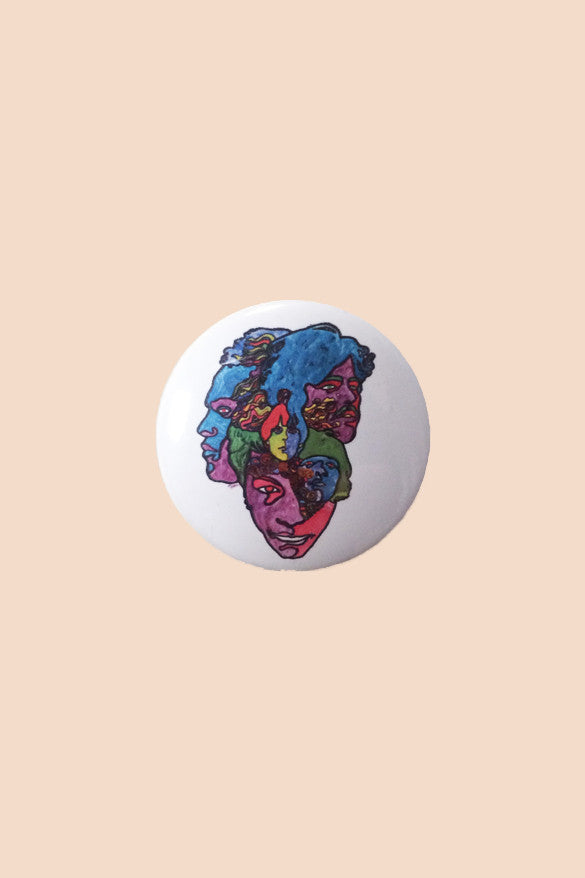 Love Forever Changes Pin