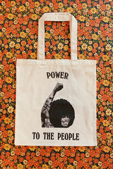 Power to the People Tote ❁ 100% Of Profits Donated