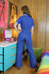 The California Shake Jumpsuit in Denim