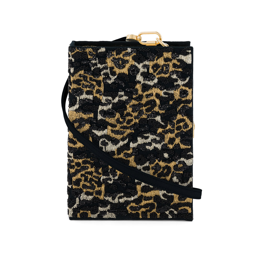 Mini Leopard Black Strapped