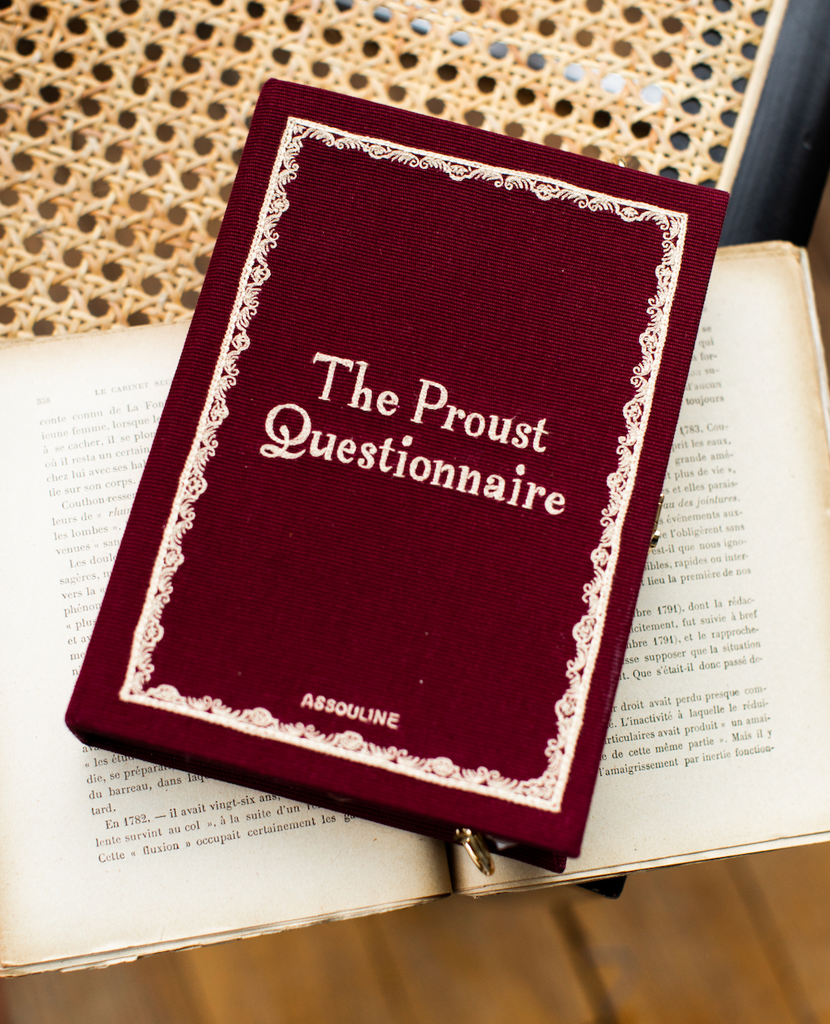 The Proust Questionnaire Strapped