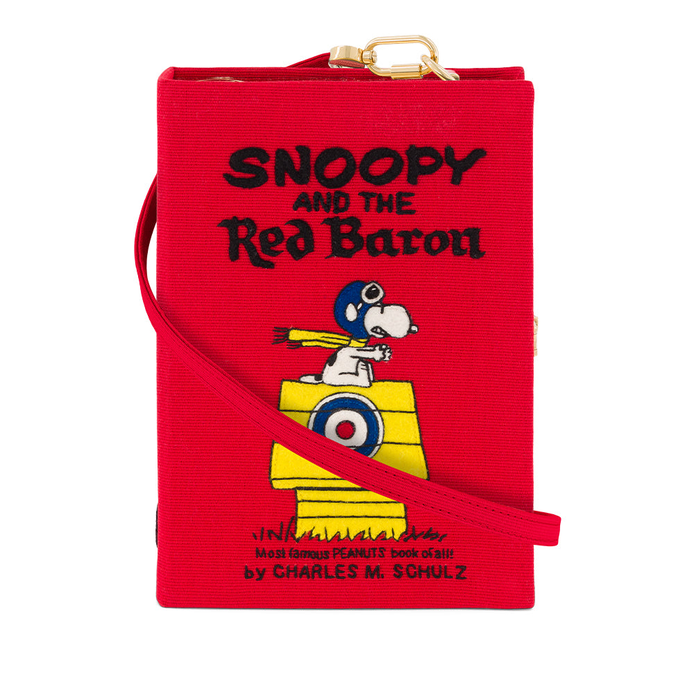 Red Baron Snoopy Strapped