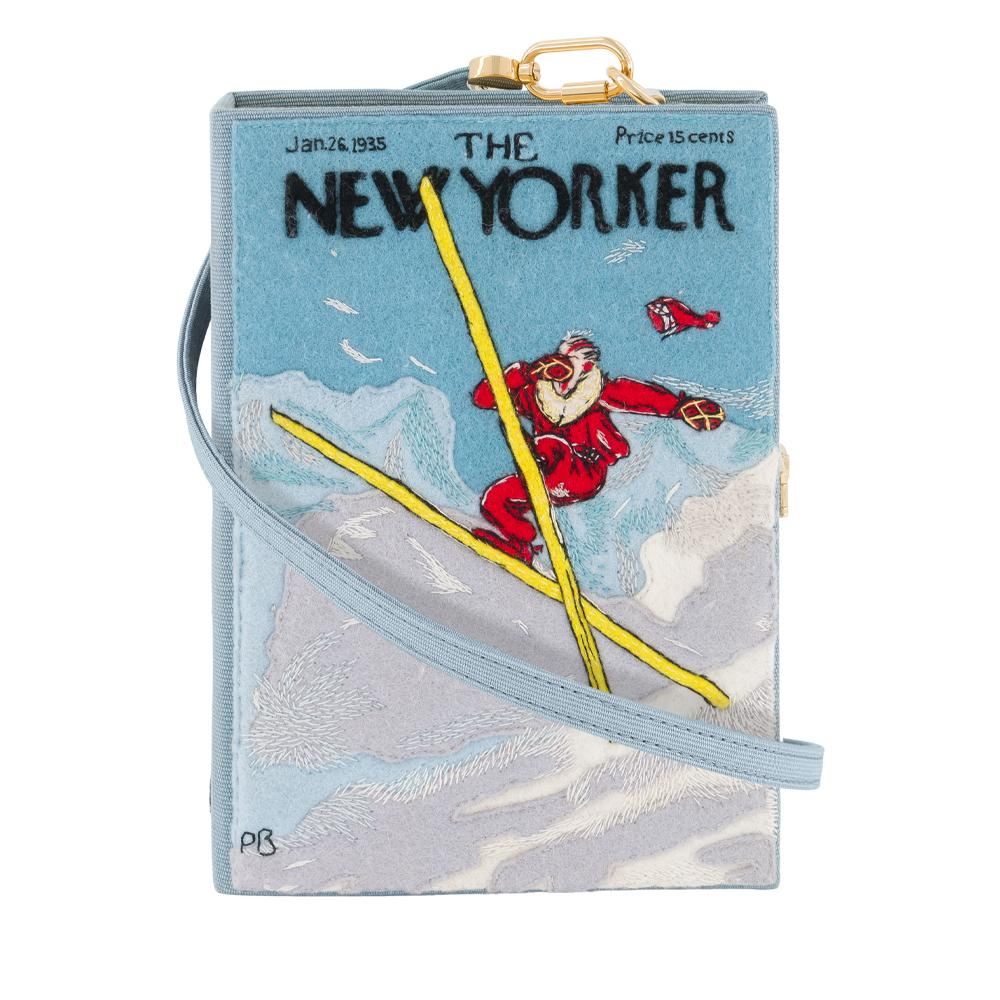 The New Yorker Ski Jump Strapped