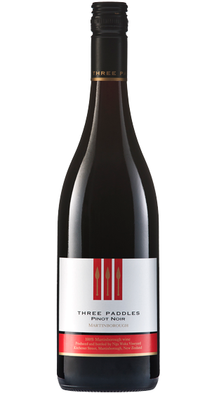 THREE PADDLES PINOT NOIR 2017 (1X750ML)