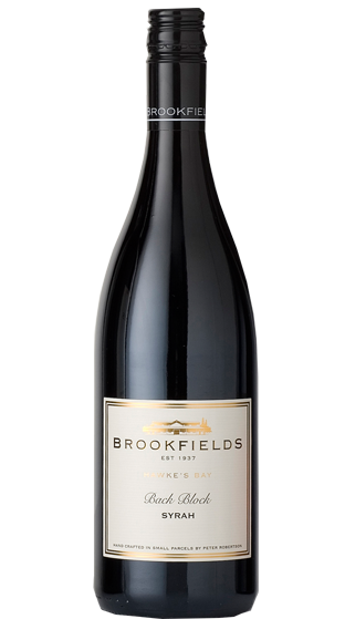 BROOKFIELDS BACK BLOCK SYRAH 2019 (1X750ML)