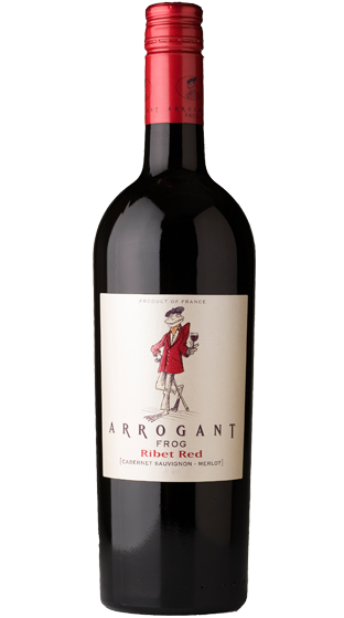 ARROGANT FROG RIBET RED CABERNET MERLOT 2017 (1X750ML)