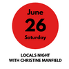 Locals Night with Christine Manfield