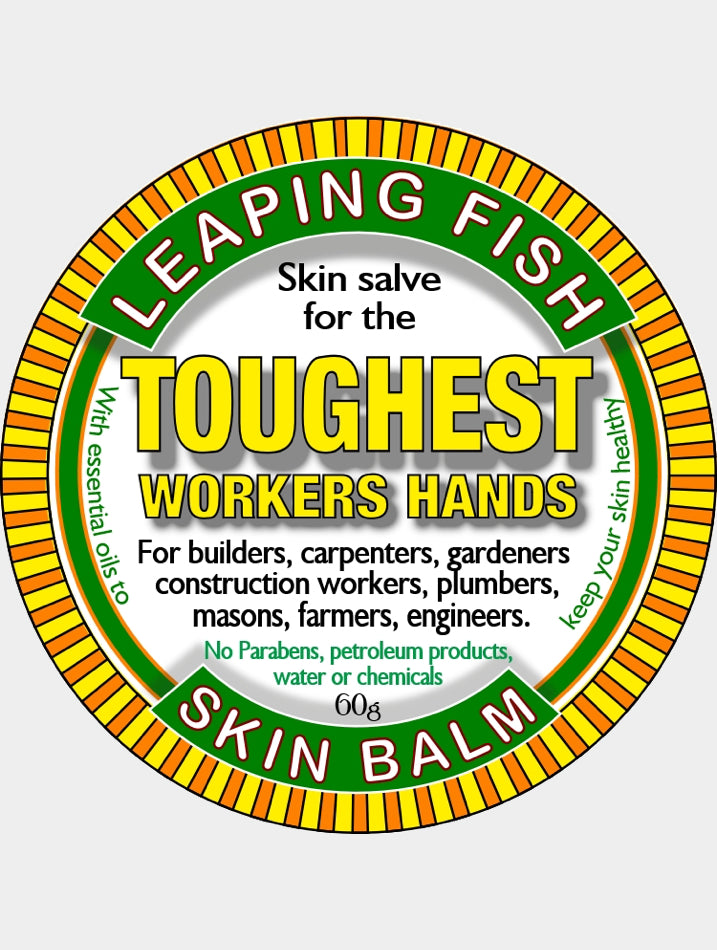 Leaping Fish  Toughest Workers Hands skin balm  60g