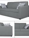 Adorn India Monteno 5 Seater 3-1-1 Sofa Set (Grey)