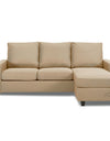 Adorn India Daffodil Three Seater Modular Sofa (Beige)