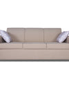 Adorn India monteno 3 Seater Sofa (Beige)