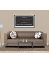 Adorn India Brisco 3 Seater Sofa (Camel)