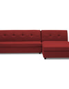 Adorn India Atlas Modular Sofa Set (Maroon)