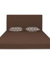 Adorn India Easy Highback Three Seater Sofa Cum Bed Rhombus 5' x 6' (Brown)
