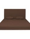 Adorn India Easy Highback Two Seater Sofa Cum Bed Decent 4' x 6' (Brown)