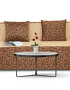 Adorn India Easy Three Seater Sofa Cum Bed 4' x 6' (Brown & Beige)