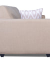 Adorn India Monteno 5 Seater 3-1-1 Sofa Set (Beige)