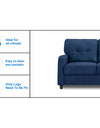 Adorn India Astor 3+2 Sofa Set (Blue)