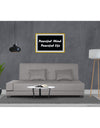 Adorn India Blake 3 Seater Sofa Cum Bed (Light Grey)