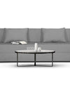 Adorn India Easy Three Seater Sofa Cum Bed Alyn 6'x 6' (Grey)