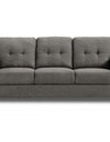 Adorn India Astor 3+1+1 Sofa Set (Grey)