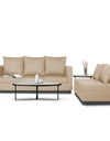 Adorn India Straight Line Modular Sofa (Beige)