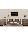 Adorn India Alica 3-1-1 5 Seater Sofa Set(Camel)