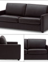 Adorn India Exclusive Flavio Leaterette 3-1-1 Sofa Set (Brown)