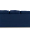 Adorn India Astor Three Seater Sofa (Blue)