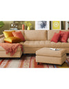 Adorn India Alexander L Shape Sofa (Left Side Handle)(Beige)