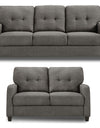 Adorn India Astor 3+2 Sofa Set (Grey)
