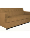 Adorn India Aleena 3 Seater Sofa (Camel)