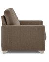 Adorn India straight line 3+1+1 seater sofa set(camel)
