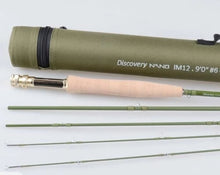 "Load image into Gallery viewer, 100% carbon, NANO IM12,Fly rod 9'0"" #6"