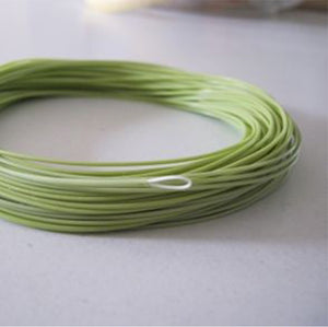 1 exposed grass green floating line with , #4 and #7 available