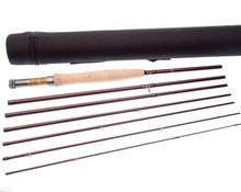 "Load image into Gallery viewer, 7pcs of Fly rod 9'0"" #6,Great for traveller"