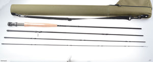 "Fly rod 9'0"" #5/6 +olive color tube with reel pouch end"