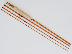 "Top Quality fibre glass fly rod 7'6"" #4"