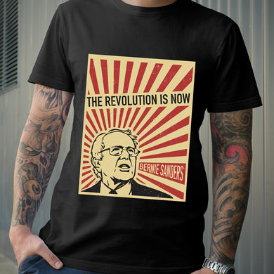 Bernie Sanders The Revolution Is Now Retro Style US Election 2020 T-shirt