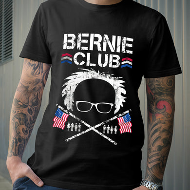 Bernie Sanders Club American Flag US Election 2020 T-shirt