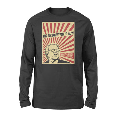 Bernie Sanders The Revolution Is Now Retro Style US Election 2020 Long Sleeve