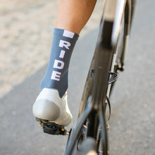 Load image into Gallery viewer, Grey Ride Socks