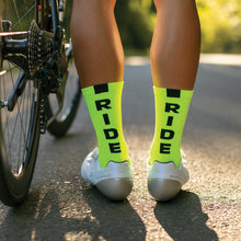 Load image into Gallery viewer, Lumo Yellow Ride Socks
